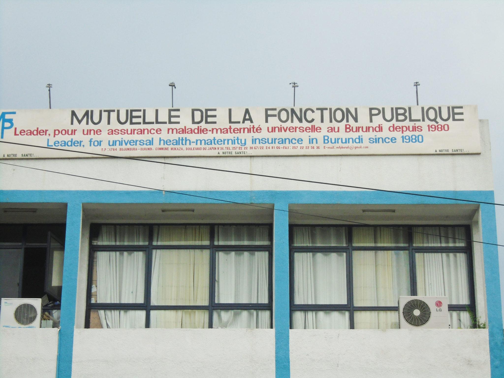 b9d707f4c6d Burundi Eco Mutuelle de la Fonction Publique   Les intérêts des affiliés  piétinés - Burundi Eco